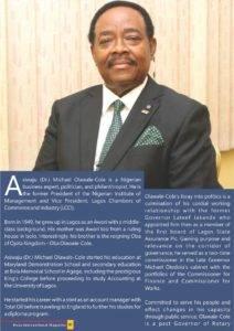 Happy birthday to Asiwaju (Dr.) Michael Olawale-Cole
